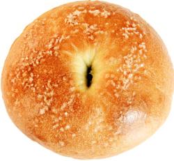 塩バターベーグル1